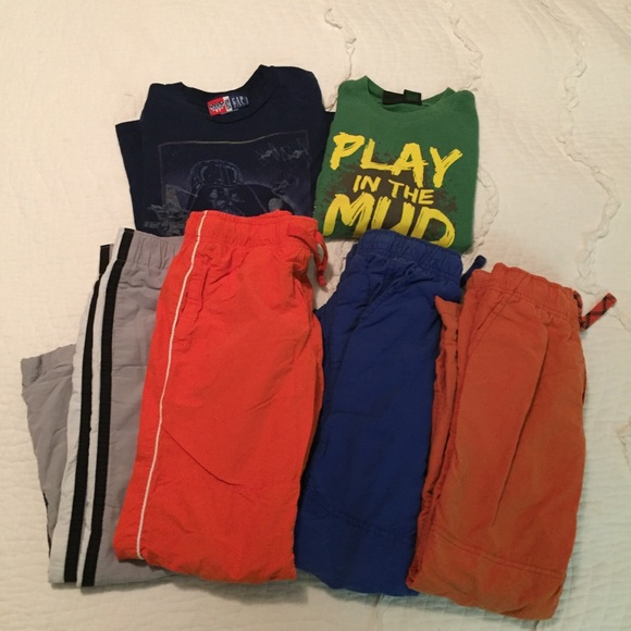 Gymboree Other - Gymboree Gap Size 7 Shirts Lined Pants Bundle